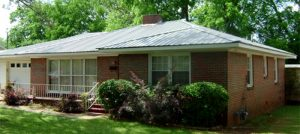 metal roof example in Columbia SC